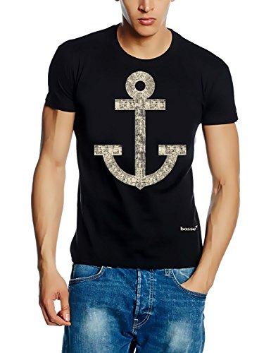 BOSSE - ANKER - gru T-Shirt colore nero S M L XL