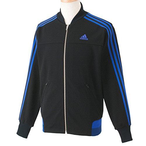 (Adidas) adidas adidas24/7 iconic warm-up jacket KBY20 S92673 black / night Flash S15/s
