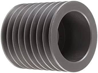 "Martin 10 5V 1030 F Narrow V-Belt Drive Sheave, 5V Belt Section, 10 Grooves, F Bushing required, Class 30 Gray Cast Iron, 10.3"" OD, 2409 max rpm, 10.2"" Pitch Diameter"