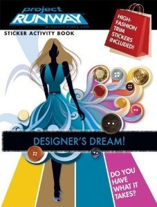 Project Runway Sticker Activity Book ~ Designer's Dream! - 1