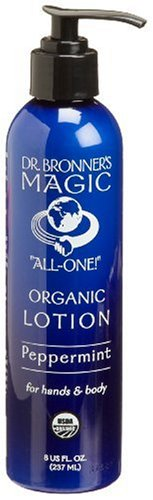 Dr. Bronner's & All-One Organic Lotion for Hands & Body, Pep