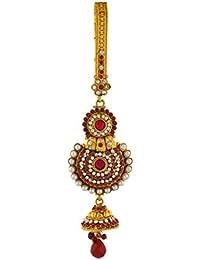 VAMA FASHIONS Antique Gold Plated (1Gm Gold)Designer Saree Waist Challa / Juda Kamarband Keychain Ethnic & Traditional...