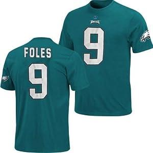Philadelphia Eagles NFL Nick Foles #9 Eligable Receiver Name & Number T-Shirt... by Majestic