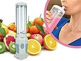 Frullatore mixer per preparare ottimi frullati in pochissimo tempo con bicchiere removibile e trasportabile. MWS