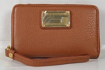 Marc Jacobs Classic Q Wingman Zip Wallet in Cinnamon Stick