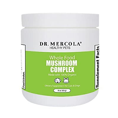 Dr. Mercola Whole Food Mushroom Complex for Pets - 100% Organic