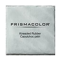 Wholesale CASE of 25 - Sanford Kneaded Rubber Eraser-Design Kneaded Rubber Eraser, X-Large, Gray