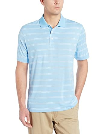 Cutter & Buck Men's CB DryTec Hawthorne Stripe,Atlas,US XXXL