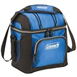 Coleman 9-Can Soft Cooler With Hard Liner, Blue