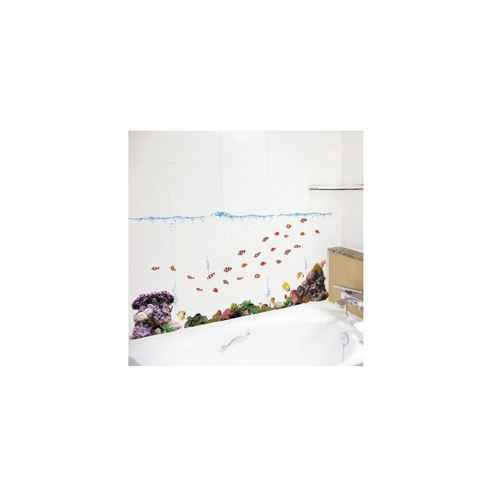 Jiniy TROPICAL FISH WALL ART DECOR Mural Decal STICKER(SS58232)