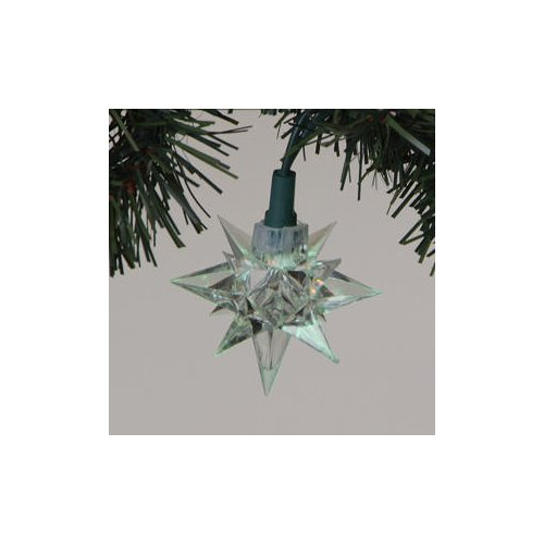 Sterling 10 Pointed Star Light Led Fancy Light Set