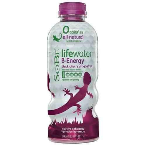 SoBe Lifewater – Black Cherry Dragonfruit – 20-fl. oz. Bottles (Pack of 24)