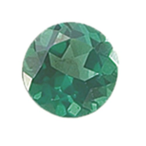 Round 6 Mm Green Topaz Faceted Stone, Aa-Grade Priced Individually Jewelry Making Findings front-583954
