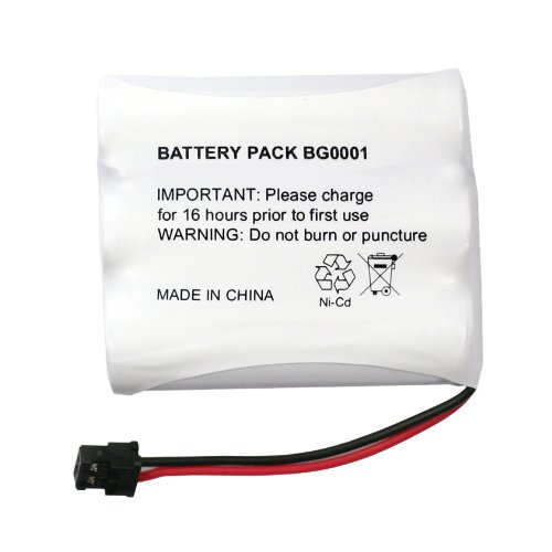 4 Pack Fenzer Replacement Cordless Phone Battery for Uniden BT-1007 BT-1015 DCX-150 DECT-1500 EXP-370 EXP-370A EXP-370CS EXP-371 EXP-371A