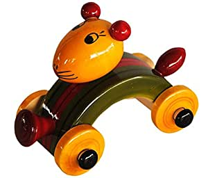 eco child eco child kids Rabbit car Wooden push toy