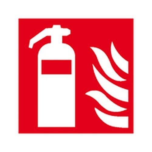 Aufkleber-Feuerlscher-Brandschutzzeichen-Gre-100-x-100cm-Folie