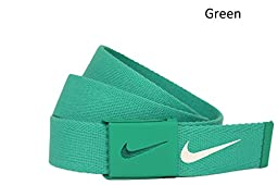 New Nike Golf- Web Belt - White (1111304)