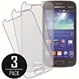 Galaxy Ace 3 Screen Protector Cover, MPERO Collection 3 Pack of Matte Anti-Glare Screen Protectors for Samsung Galaxy Ace 3