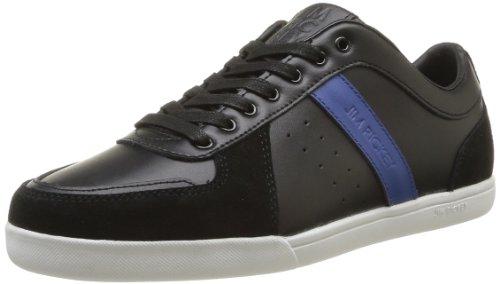 Jim Rickey  Walcott Leather Suede,  Sneaker uomo Nero Noir (Black Limoges) 40