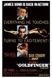 GOLDFINGER MOVIE POSTER James Bond RARE HOT NEW 24X36