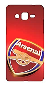 Arsenal Foorball Club (AFC) Design Mobile Cover for Samsung Galaxy ON5 - Hard Case Back Cover - Gunners Printed Designer Cover - SGON5LVFCB141AFC