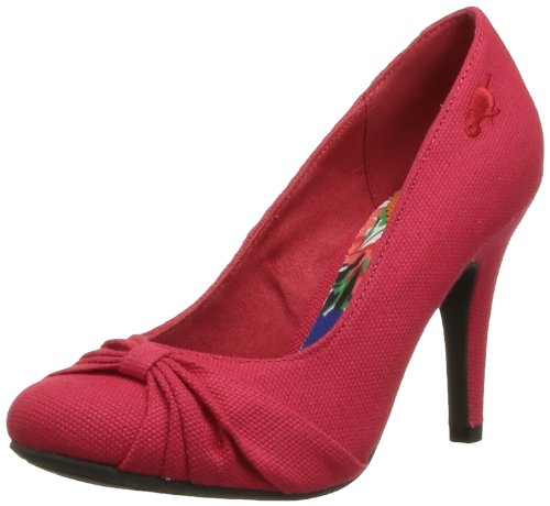 Rocket Dog Women's Ornella Court Shoes Red Rouge (8A Canvas Red) 39