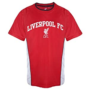 Liverpool FC Official Infants Home Kit Training T-Shirt Red 6-7 Years by Liverpool FC