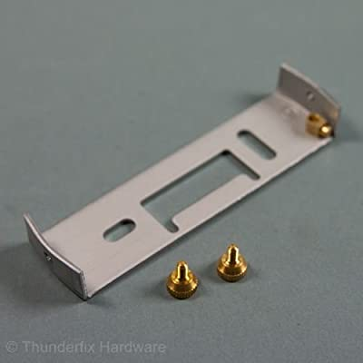 Lighting Fixture Ceiling Plate Bracket Suspension Plate Earthed 100mm with Brass Screws