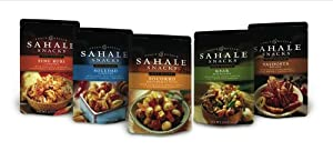 Sahale Snacks, Variety Pack of 5 Flavors, 2-Ounce Pouches (Pack of 10)