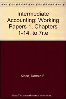 intermediate accounting 13th edition working papers Kieso, weygandt, warfield: intermediate accounting, 15thintermediate accounting, 15th edition home browse by chapter to the student companion site for intermediate accounting, 15th edition welcome to the web site for intermediate accounting, 15th edition by donald e kieso select a chapter a list of resources available for that.