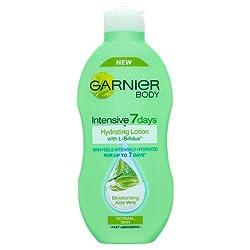 Garnier Body Intensive 7 Days Hydrating Lotion Normal Skin Moisturising Aloe Vera