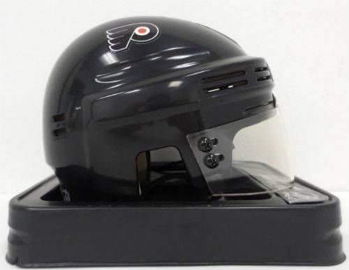 Bill Barber Philadelphia Flyers Signed Black Mini Hockey Helmet SI at Amazon.com