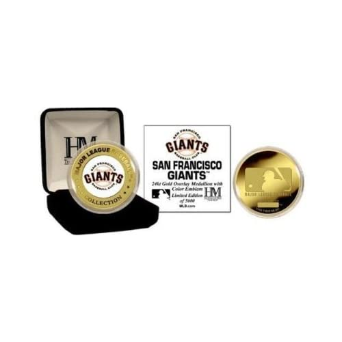 San Francisco Giants 24KT Gold and Color Team Mint Coin Collection