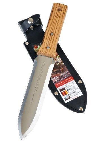 Tomita-Japanese-Hori-Hori-Garden-Landscaping-Digging-Tool-With-7-inch-Stainless-Steel-Blade-Sheath-Natural-Wood-Handle-DESIGN-1-1