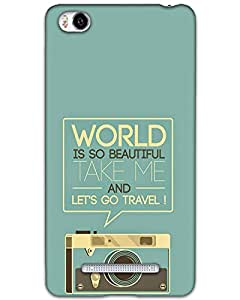Micromax Canvas sliver 5 Q450 Back Cover Designer Hard Case Printed Cover
