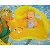 Swim Ways Sun Canopy Starfish Baby Float-Colors May Vary