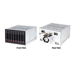 Supermicro CSE-M28SAB SAS/SATA Mobile Rack (Black)