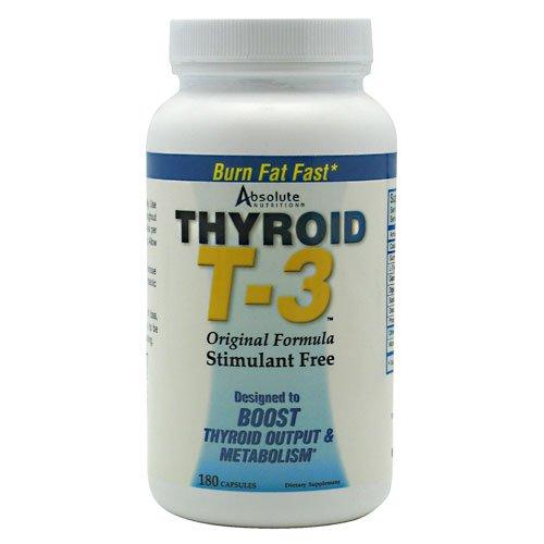 Absolute Nutrition Thyrox T-3 180 Caps