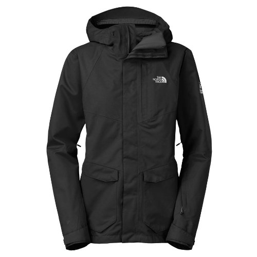 the north face NFZ insulated jacket T0A7GTJK3 hooded ski coat parka (medium, black)