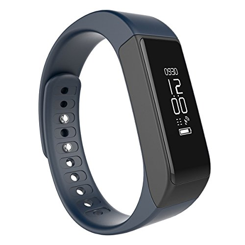 Fitness Tracker,Semaco Wireless Smart Bracelet with OLED Display Bluetooth Pedometer Sleep Monitor Activity Wristband for iPhone Samsung Android and iOS Smartphones (Blue)