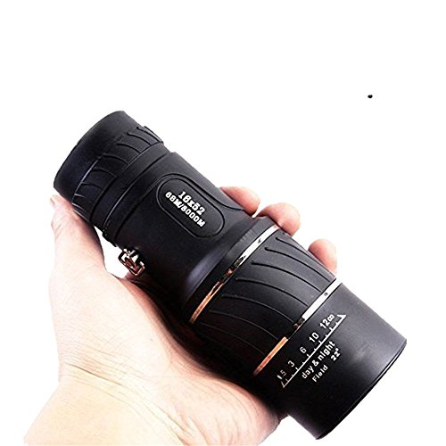 Best Buy! Elikeable EL Dual Focus Compact Telescope Low-light-Day & Night Vision 16x52 HD Optica...