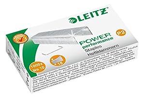 Leitz Heftklammer, No. 10, verzinkt, 1000 Stück