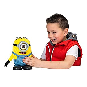 Minions 23cm Tumblin' Stuart Talking Plush