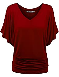 LL Womens Boat Neck Dolman Top