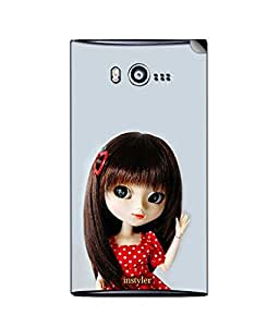 instyler SKIN STICKER FOR MICROMAX BOLT A075