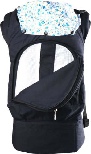 Comfy Baby Front and Back Safety Baby Carrier (Black) Model # 5000