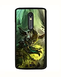 Aart Designer Luxurious Back Covers for Moto X Style + 3D F2 Screen Magnifier + 3D Video Screen Amplifier Eyes Protection Enlarged Expander by Aart Store.