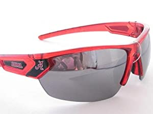 Buy Alabama Crimson Tide UA Red Transparent Mens Sunglasses Roll Tide S12RD by Sports Accessory Store