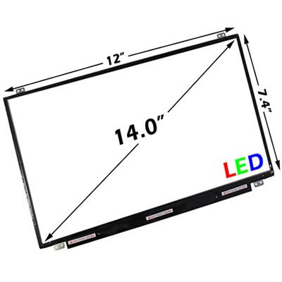 "Samsung Ltn140At20-301 Laptop Lcd Screen 14.0"" Wxga Hd Led (Compatible Replacement ) (Not For Sony)"