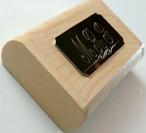 MONOGRAM Custom engraved Wooden USB Memory Stick Flash Drive 8gb Pen Desk Set Gold and Wood Case